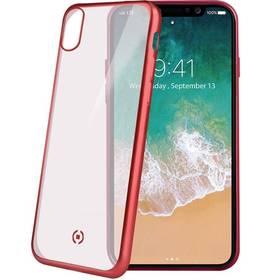 Celly Laser pro iPhone X/Xs (LASERMATT900RD) červená barva
