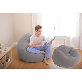 "Intex Beanless Bag Chair ""Grey"" (68579NP)"