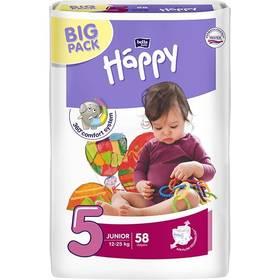 Bella Baby Happy Junior Big Pack 58 ks Ubrousky čistící Bella Baby Happy hedvábí a bavlna 64 ks (zdarma)