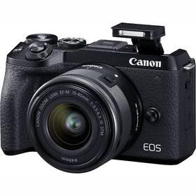 Canon EOS M6 MARK II + EF-M 15-45 mm IS STM + EVF hľadáčik (3611C012) čierny