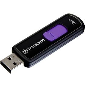 Transcend JetFlash 500 32GB (TS32GJF500) čierny/fialový