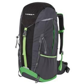 Loap ALPIZ 40 black/green + Taška přes rameno Coleman ZOOM - (1L, černá), 12 x 15 x 8,5 cm, 160 g, vhodná na doklady, mobil, klíče v hodnotě 259 Kč