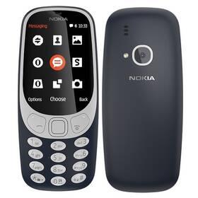 Nokia 3310 (2017) Dual SIM (A00028108) modrý SIM s kreditem T-Mobile 200Kč Twist Online Internet (zdarma)