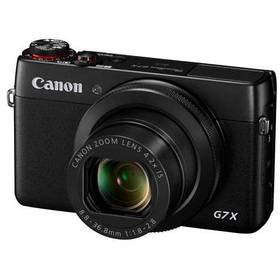 Canon PowerShot G7X černý + Doprava zdarma