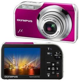 Digitálny fotoaparát Olympus Mju-5000 Metal Magenta fialový
