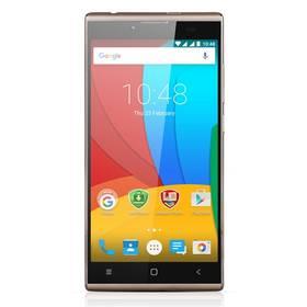 Prestigio Grace Q5 Dual SIM (PSP5506DUOGOLD) zlatý Software F-Secure SAFE 6 měsíců pro 3 zařízení (zdarma) + Doprava zdarma