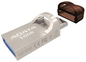 ADATA UC370 16GB OTG USB-C/USB 3.1 (AUC370-16G-RGD) zlatý