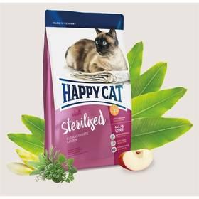 HAPPY CAT ADULT Sterilised - Kastrát 10 kg + Doprava zdarma