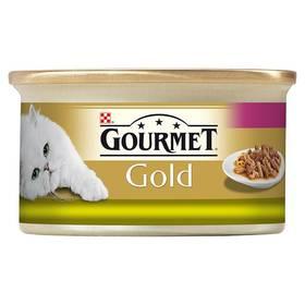 Gourmet Gold s králíkem a játry 85g
