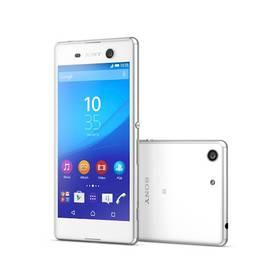 Sony Xperia M5 E5603 (1300-5535) bílý + Voucher na skin Skinzone pro Mobil CZ v hodnotě 399 Kč jako dárek+ Software F-Secure SAFE 6 měsíců pro 3 zařízení v hodnotě 999 Kč jako dárek + Doprava zdarma