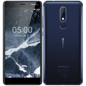 Nokia 5.1 Dual SIM (11CO2L01A13) modrý (vrácené zboží 8800220645)