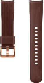 Samsung silikonový pro Galaxy Watch ET-YSU81M 20mm (ET-YSU81MAEGWW) hnědý