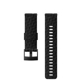 Suunto silikonový velikost M - black/black (SS050221000)