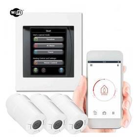 Danfoss Home Link 1x řídící jednotka, 3x termohlavice (014G0501)