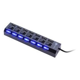 Connect IT USB 2.0 / 7x USB 2.0 (CI-541) černý