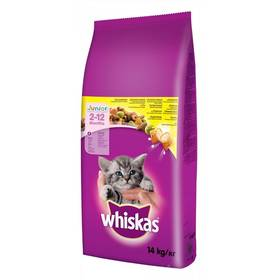 Whiskas Junior s kuracím 14 kg