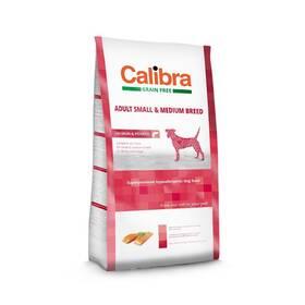 Calibra Dog Grain FreeAdult Medium & Small Salmon 2kg