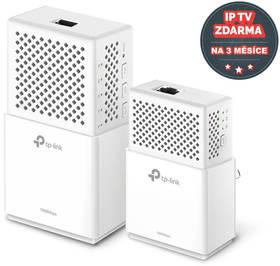 TP-Link TL-WPA7510KIT + IP TV na 3 měsíce ZDARMA (TL-WPA7510KIT) bílý