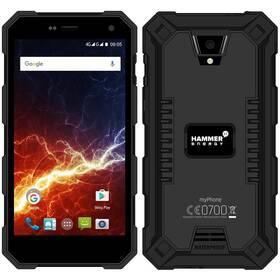 myPhone Hammer Energy LTE Dual SIM (TELMYAHAENERBK) černý