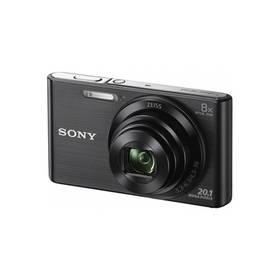 Sony Cyber-shot DSC-W830B černý + Doprava zdarma