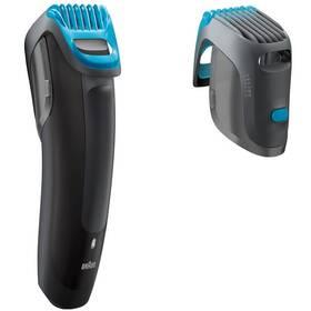 Zastřihovač vousů Braun Cruzer5 Beard černý/modrý