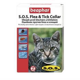 Obojok Beaphar SOS antiparazitní pro kočky 35 cm