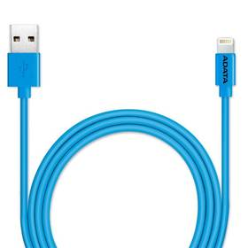 A-Data Sync & Charge Lightning, 1m, MFi (AMFIPL-100CM-CBL) modrý