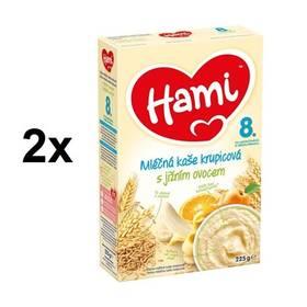 Hami krupicová s jižním ovocem 225g x 2ks