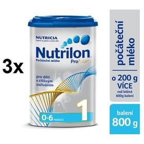 Nutrilon 1 Profutura od 0. měsíce, 800g x 3ks + Doprava zdarma