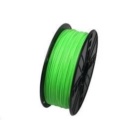Tisková struna (filament) Gembird Tisková struna (filament) Gembird, ABS, 1,75mm, 1kg, fluorescentní zelená