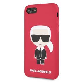 Karl Lagerfeld Full Body pro Apple iPhone 7/8 (KLHCI8SLFKRE) červený