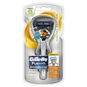 Gillette Proglide Flexball Silver + hlavice 2 ks