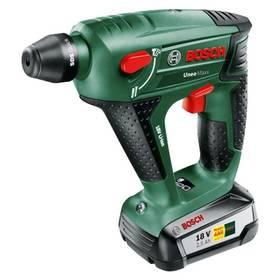 Bosch Uneo Maxx (1 aku, 2,5 Ah) zelený + Doprava zdarma