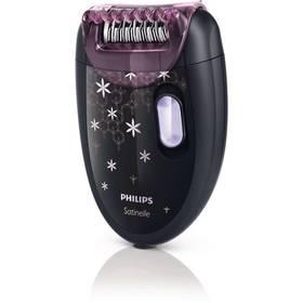 Philips Satinelle Soft HP6422/01 černý (vrácené zboží 8800291970)