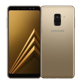 Samsung Galaxy A8 Dual SIM - Gold (SM-A530FZDDXEZ) SIM s kreditem T-Mobile 200Kč Twist Online Internet (zdarma)