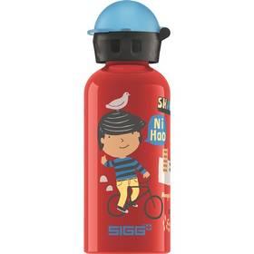 Sigg dětská Travel Boy Shanghai, 0.4L červená