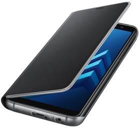 Samsung Neon flip pro Galaxy A8 2018 (EF-FA530P) (EF-FA530PBEGWW) černé + Doprava zdarma