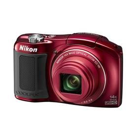 Digitální fotoaparát Nikon Coolpix L620 červený