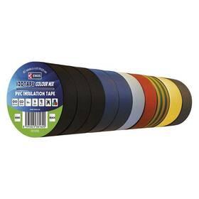 EMOS Izolační PVC 15mm / 10m barevný mix 10ks