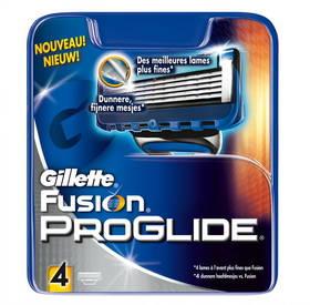 Náhradné hlavice Gillette Fusion Proglide Manual 4ks