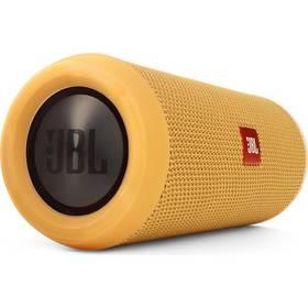 JBL Flip3 žlutý + Doprava zdarma