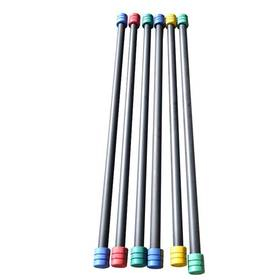 Tyczka do aerobiku Master - 3 kg - czerwona/niebieska/zielona/żółta