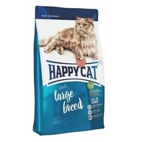 HAPPY CAT ADULT Large Breed - Velká plemena 10 kg + Antiparazitní obojek za zvýhodněnou cenu + Doprava zdarma