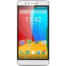 Prestigio Muze A7 Dual SIM (PSP7530DUOWHITE) bílý + Software F-Secure SAFE 6 měsíců pro 3 zařízení v hodnotě 999 Kč jako dárek+ Voucher na skin Skinzone pro Mobil CZ v hodnotě 399 Kč jako dárek + Doprava zdarma