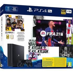 Sony PlayStation 4 Pro 1 TB + FIFA 21 + 2x ovladač (PS719835226) (poškozený obal 8800821752)