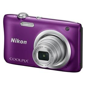 Nikon Coolpix A100 fialový + Doprava zdarma