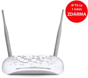 TP-Link TD-W9970B + IP TV na 1 měsíc ZDARMA (TD-W9970B) bílý