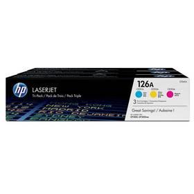 HP 126A, 3x 1000 stran, CMY (CF341A)