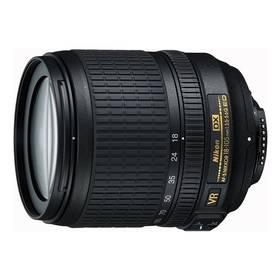 Nikon NIKKOR 18-105MM F3.5-5.6G AF-S DX VR ED černý + Doprava zdarma