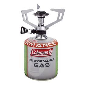 Coleman Vařič F1 Spirit + Kartuše C 300 Performance stříbrný/bílý/zelený